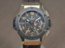 ウブロHublot Big Bang 44mm RG/RU Brown dial A-7750 Auto自動巻き