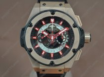 ウブロHublot Big Bang King Power RG/RU Skeleton dial A-7750 Chrono自動巻き