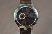 ピアジェPiaget Double sided RG/LE Brown/Silver Dial Swiss Quartz 700クオーツ