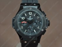 ウブロHublot Big Bang 44mm PVD/RU Black Dial Asian自動巻き