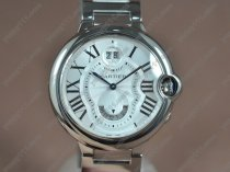 カルティエCartier Ballon Bleu de Cartier SS White dial Quartzクォーツ