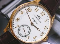 IWC F A Jones RG White/RG Num手巻き