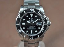 Rolex Watches Submariner SS Ceramic Bez Black dial Asia 3135 Auto 1700