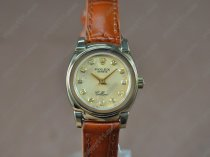 ロレックスRolex Cellini 26mm YG/LE Gold dial Ronda 762クォーツ