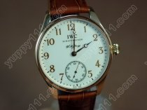IWC Watches F A Jones RG White/RG Num Decorated Bridges Unitas手巻き