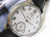 IWC F A Jones SS White/Black Num Decorated手巻き