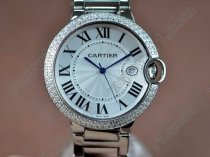 カルティエCartier Ballon Bleu de Cartier SS Quartzクオーツ