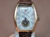 Franck Muller Watches Casablanca SS/LE Asian Flying Tourbillon Handwind Movt 3500