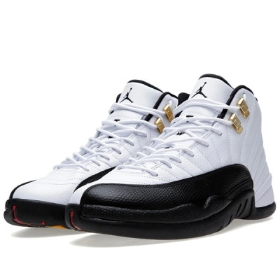 Authentic Air Jordan 12 Retro GS Taxi