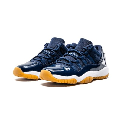 Authentic Air Jordan 11 Retro GS Low Navy