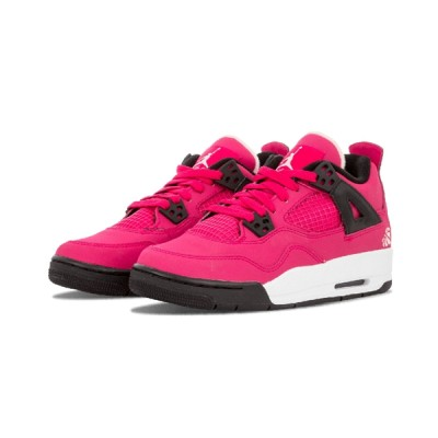 Authentic Air Jordan 4 Retro GS Valentines day