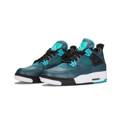 Authentic Air Jordan 4 Retro GS Teal