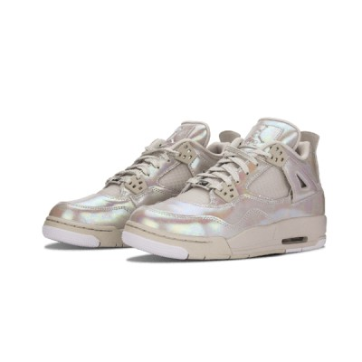 Authentic Air Jordan 4 Retro GS Pearl