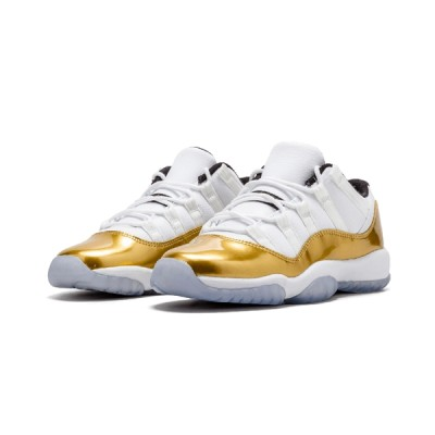 Authentic Air Jordan 11 Retro GS Metallic Gold