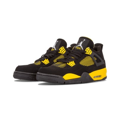 Authentic Air Jordan 4 Retro GS Thunder