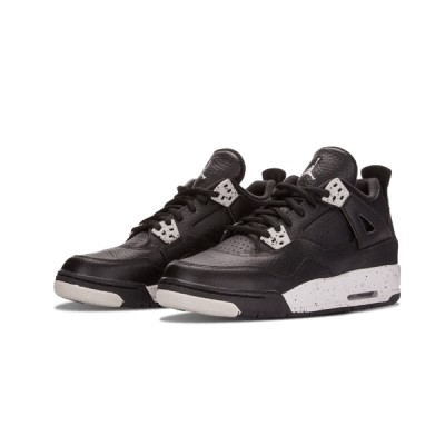 Authentic Air Jordan 4 Retro GS Oreo