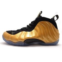 Authentic Nike Air Foamposite One Metallic Gold