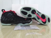 Authentic Air Foamposite Pro Solar Red Yzy (Glow in the dark)