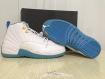 Authentic Air Jordan 12 Retro GS University Blue