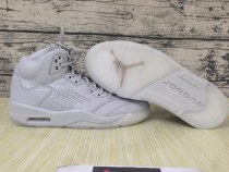 "Authentic Air Jordan 5 ""Pure Money"""