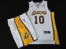 The lakers set #10 white