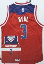 Washington Wizards #3 Bradley Beal New Red Road Stitched NBA Jersey