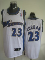 Washington Wizards #23 Michael Jordan Stitched White NBA Jersey