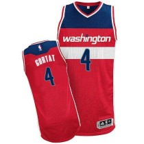 Washington Wizards #4 Marcin Gortat Red Revolution 30 Stitched NBA Jersey
