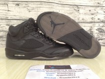 "Air Jordan 5 Premium ""Triple Black"