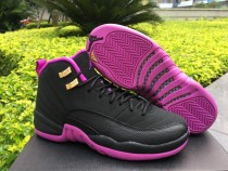 Authentic Air Jordan 12 Retro GS Hyper Violet