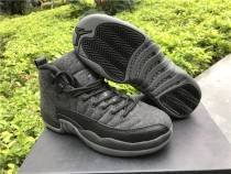 Authentic Air Jordan 12 Retro GS Wool