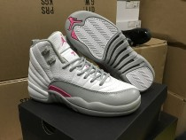 "Authentic Air Jordan 12 GS ""Vivid Pink"""