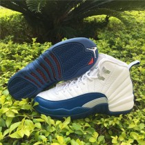 Authentic Air Jordan 12 Retro GS French Blue