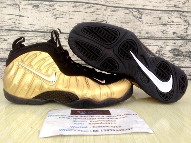 "new product f1ab4 5c8b6 Nike Air Foamposite Pro Metallic Gold"""