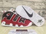 Supreme x Nike Air More Uptempo red black