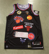 NBA Detroit Pistons x supreme 2018 Black