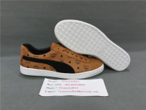 Authentic P.uma x MCM Sneakers Brown