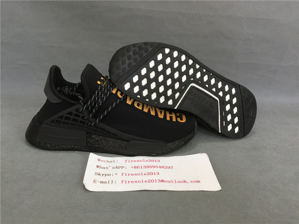 c8cfe21763c0 Authentic Adidas Human Race (Champagne) OVO x Pharrell Williams Item NO   690477