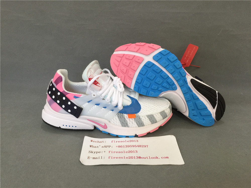 ee0d8d8be86 Wholesale and retail Authentic OFF WHITE x Parra x Nike air Presto ...