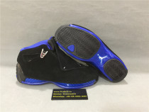 Authentic Air Jordan 18s Black/Blue