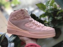 Authentic Air Jordan 2s Pink