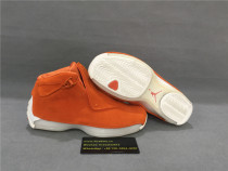 "Authentic Air Jordan 18 ""Orange"""