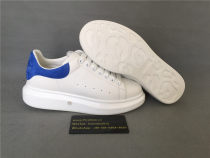 Authentic Alexander MQueen Sneaker White/ Blue1