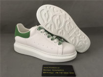 Authentic Alexander MQueen Sneaker White/Green