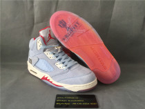 Authentic Air Jordan 5 Trophy Room SP Ice Blue