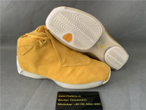 Authentic Air Jordan 18 Retro Yellow