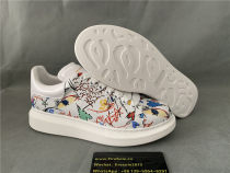 Authentic AIexander McQuen Sneakers Colorful