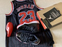 Authentic Jordan 11 Bred 2019 with NBA Jersey