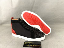 Authentic Christian Louboutin Ankle Boots Black (25)