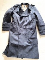Authentic Burberr Long Coat Black for Women